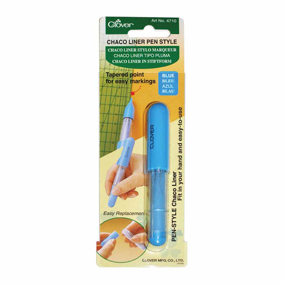 CLOVER 4710 - Pen Style Chaco Liner - Blue