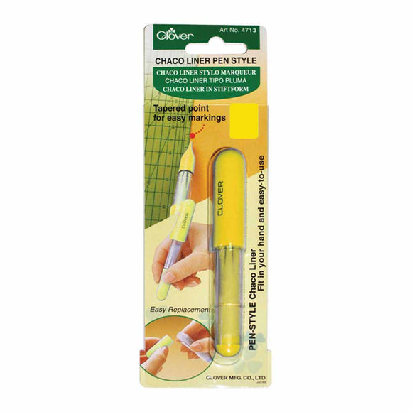 CLOVER 4713 - Pen Style Chaco Liner - Yellow