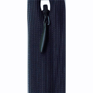 Invisible Closed End Zipper 23cm (9″) - Dark Navy