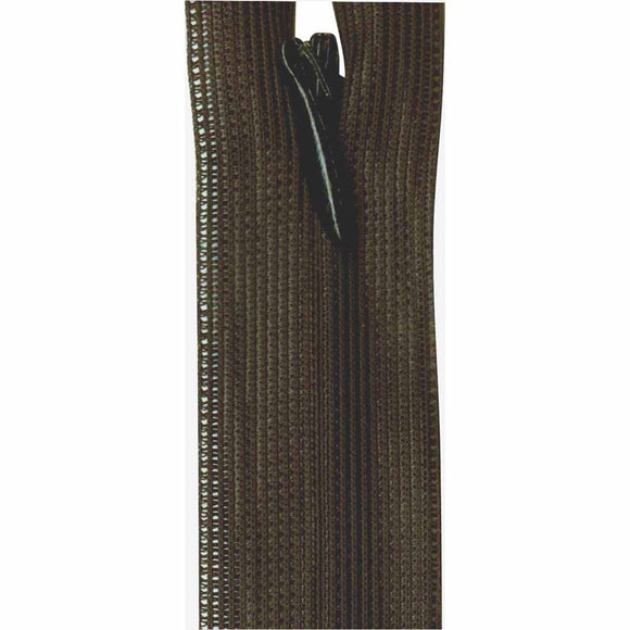 Invisible Closed End Zipper 55cm (22″) - Black