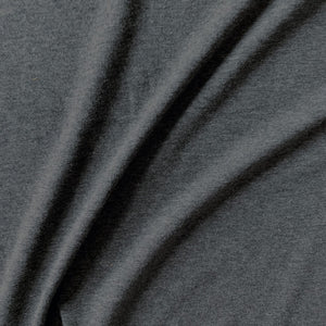 Bamboo/Cotton Stretch Jersey - Charcoal - 1/2 Yard