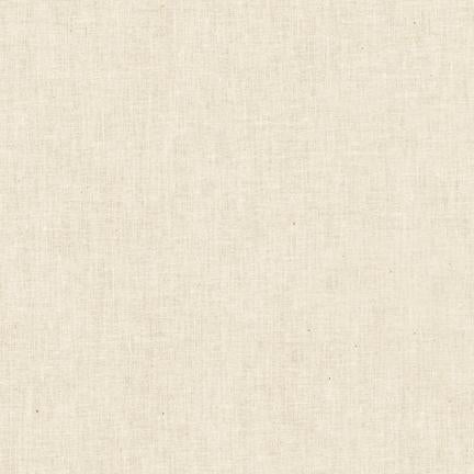 Robert Kaufman Kona Premium Muslin Fabric - Natural - 1/2 Yard