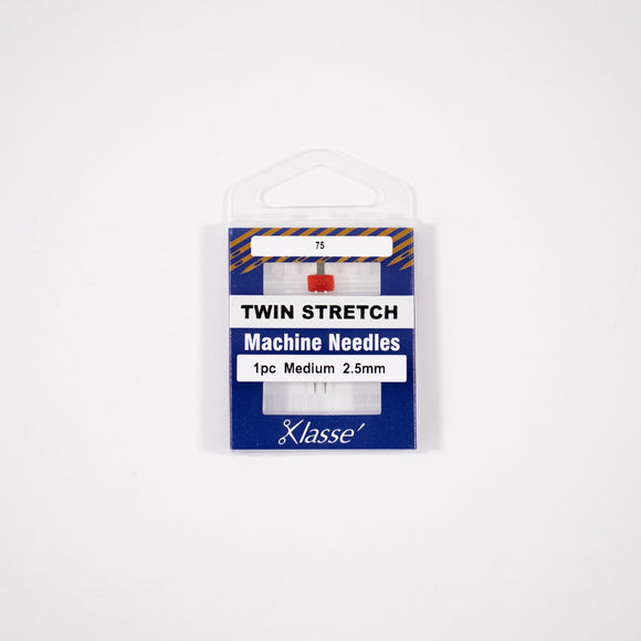 KLASSE´ Twin Stretch Needle Cassette - Size 75/11 - 2.5mm