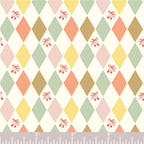 Birch Fabrics Organic Cotton Poplin - Harlequinade - 1/2 Yard