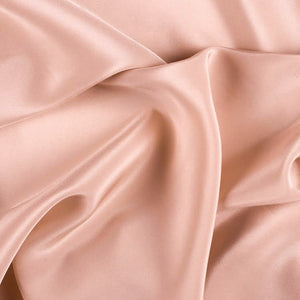 Peach Pink Silk Crepe De Chine 16 Momme - 16mm - 1/2 yard