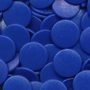 KamSnaps Plastic Snaps B16 Royal Blue Size 20 Matte - Package of 25 Sets