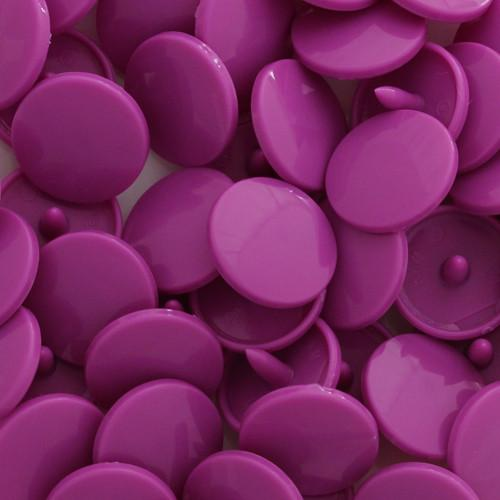 KamSnaps Plastic Snaps Size 20 - B56 Bright Violet - Glossy - Package of 20 Sets