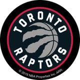 NBA Toronto Raptors Adhesive Patch Fabric - Camelot Ad-Fab - Black - per patch