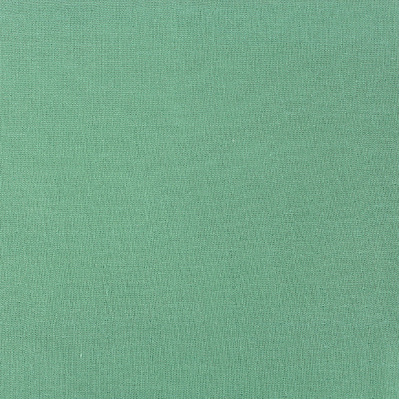 Organic Cotton Solid Double Gauze in Jadeite by Birch Organics - 1/2 yard