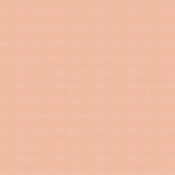 Elite - Silky Cotton Solids Japanese Quilting Fabric - Peach - 1/2 Yard