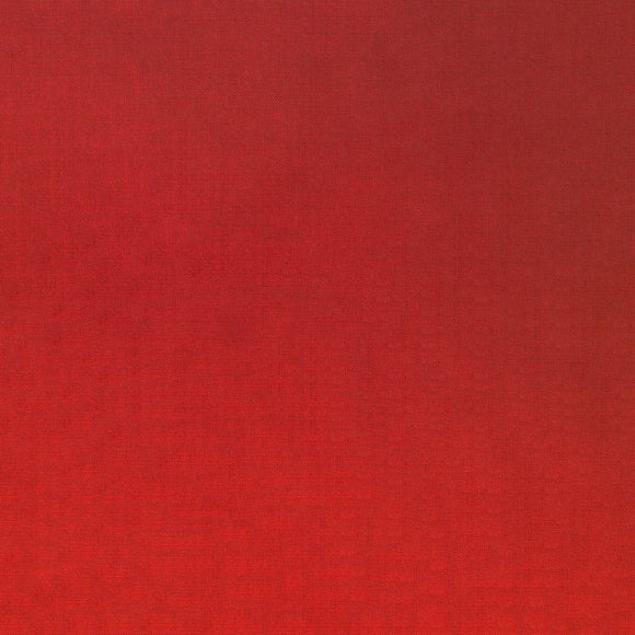Elite - Silky Cotton Solids Japanese Quilting Fabric - Red - 1/2 Yard