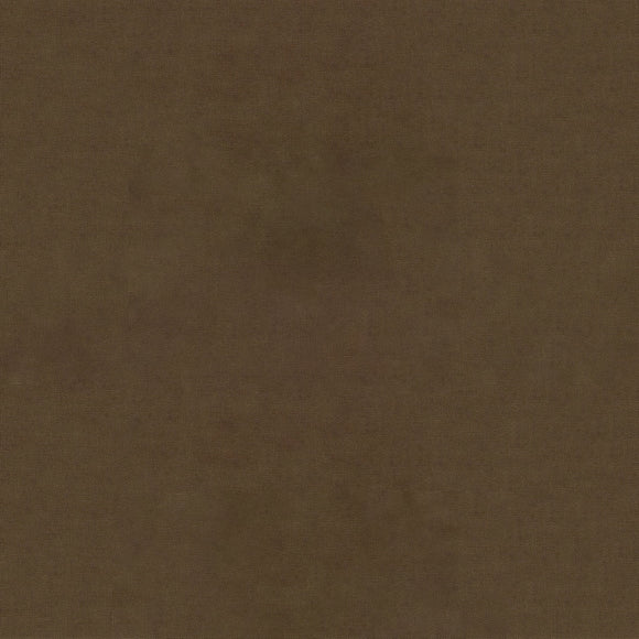 Elite - Silky Cotton Solids Japanese Quilting Fabric - Medium Brown - 1/2 Yard