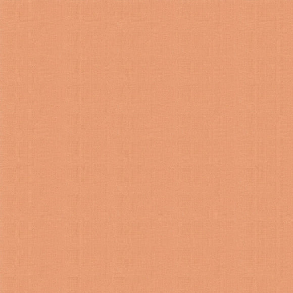 Elite - Silky Cotton Solids Japanese Quilting Fabric - Apricot - 1/2 Yard