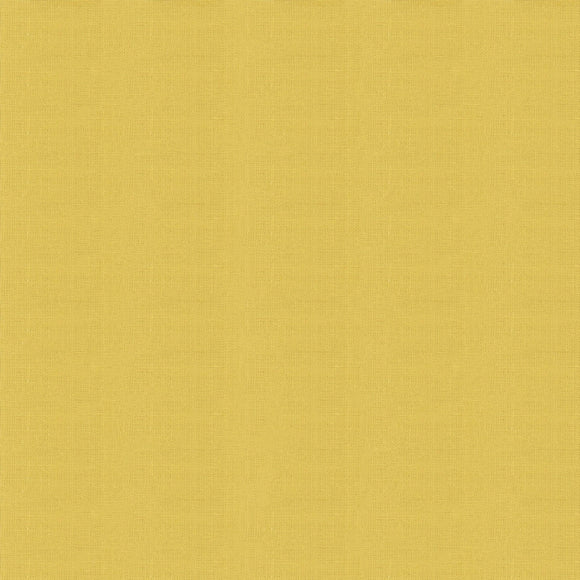 Elite - Silky Cotton Solids Japanese Quilting Fabric - Light Mustard - 1/2 Yard