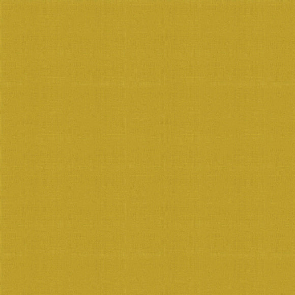 Elite - Silky Cotton Solids Japanese Quilting Fabric - Mustard - 1/2 Yard