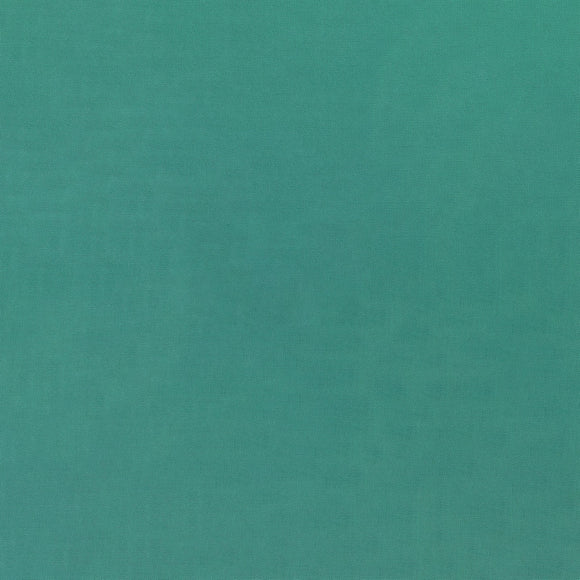 Elite - Silky Cotton Solids Japanese Quilting Fabric - Sea Green - 1/2 Yard