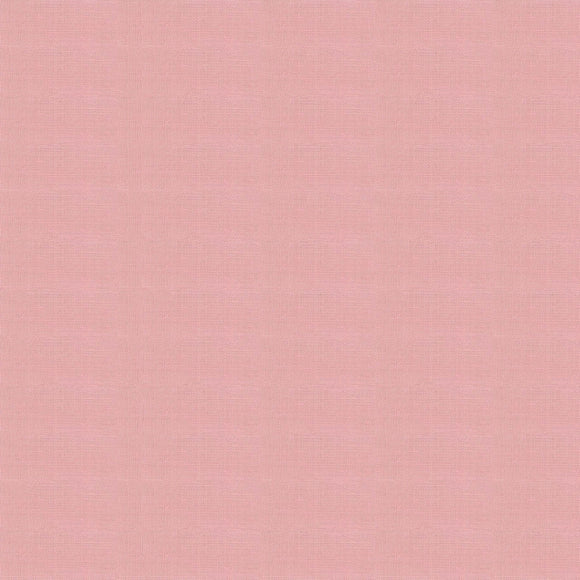 Elite - Silky Cotton Solids Japanese Quilting Fabric - Dusty Pink - 1/2 Yard