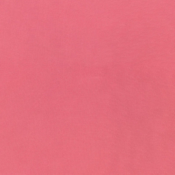 Elite - Silky Cotton Solids Japanese Quilting Fabric - Rouge - 1/2 Yard