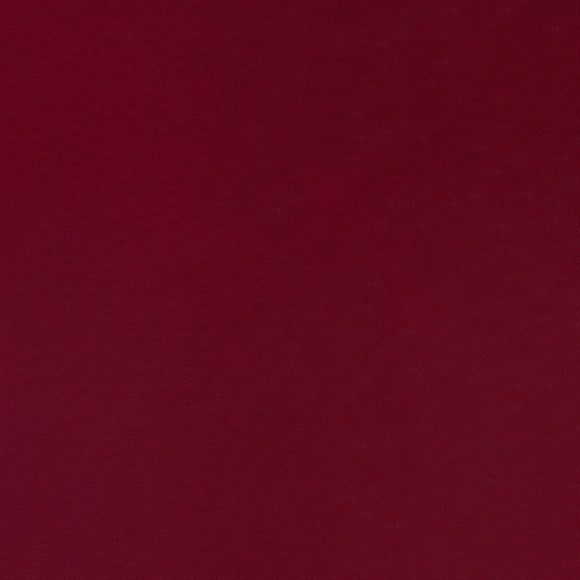 Elite - Silky Cotton Solids Japanese Quilting Fabric - Garnet - 1/2 Yard