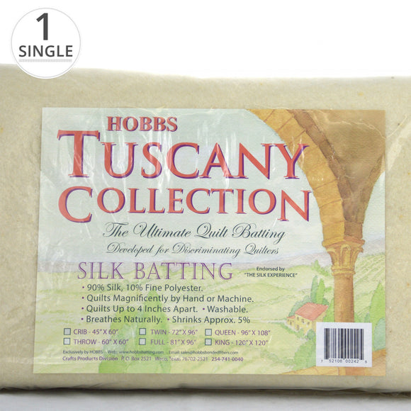 Hobbs Tuscany Silk Batting 45