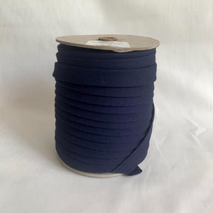 "Extra Wide Double Fold Bias Tape 13mm (1/2"") - Navy Blue - By the Yard"