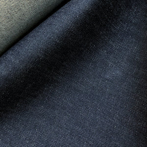 Cone Mills - Comfort Stretch Denim - Natural Dark Indigo - 11 oz - 1/2 Yard