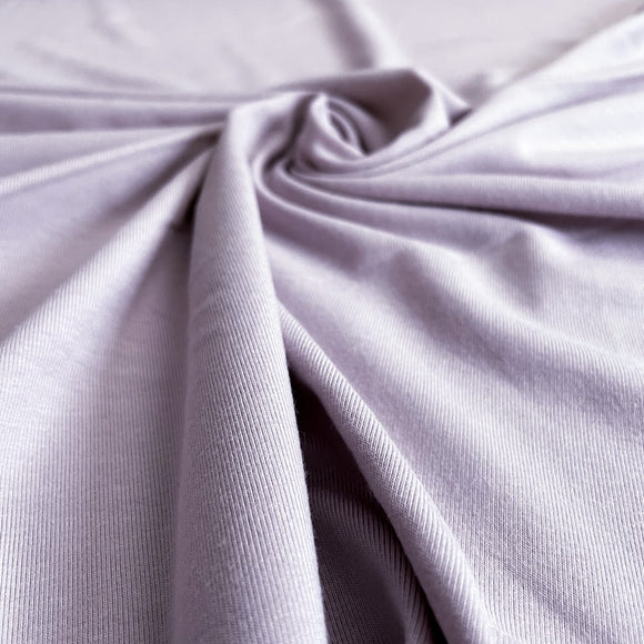 Bamboo/Cotton Stretch Jersey - Lavender - 1/2 Yard