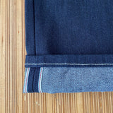 Cone Mills - Selvedge Denim - 100% Cotton - Red Selvedge - Dark Indigo - 13 oz - 1/2 Yard