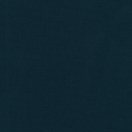 Robert Kaufman Kona Cotton Fabric Indigo - 1/2 Yard