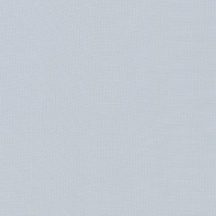 Robert Kaufman Kona Cotton Fabric Quicksilver - 1/2 Yard