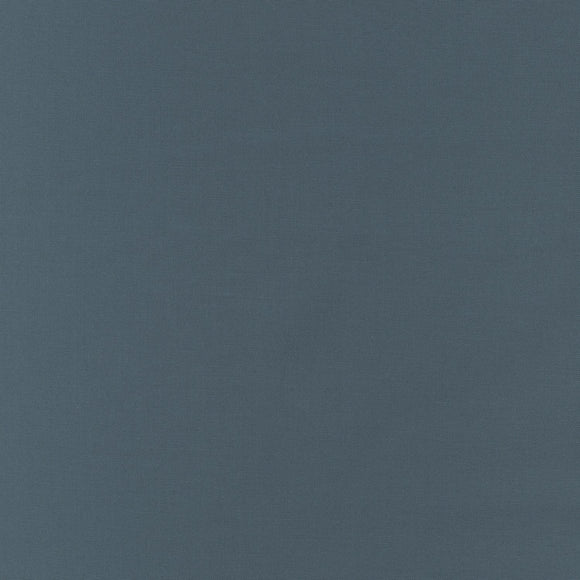 Robert Kaufman Kona Cotton Fabric - Chalkboard - Blueish Grey - 1/2 Yard