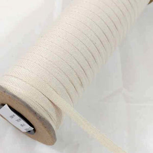 6mm Herringbone Twill Tape 100% Cotton - Natural - By the Meter OR 5 Meter