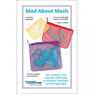 Mad About Mesh Sewing Pattern - By Annie