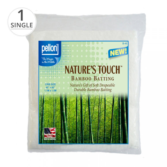 Nature's Touch Bamboo Batting with Scrim 45