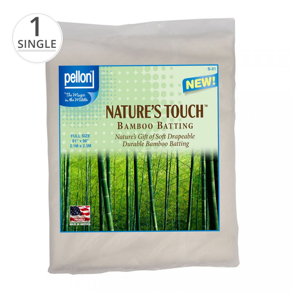 Nature's Touch Bamboo Batting with Scrim 81