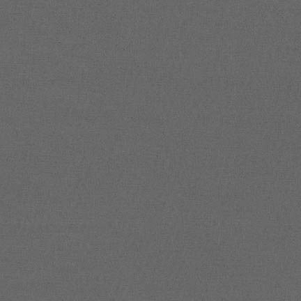 Robert Kaufman Superluxe Poplin Grey - 1/2 Yard