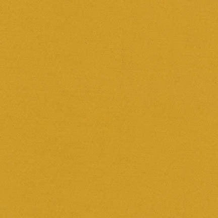 Robert Kaufman Superluxe Poplin Mustard - 1/2 Yard