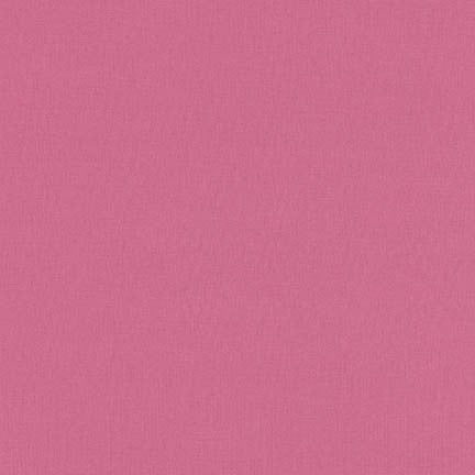 Robert Kaufman Superluxe Poplin 1/2 Yard - Rose