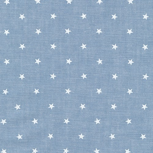 Sevenberry for Robert Kaufman - Classiques Chambray - Denim - 1/2 Yard