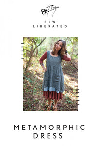 Reversible Metamorphic Dress - By Sew Liberated Patterns