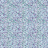 Springs Creative - Floral Tonal Butterflies Jasmine Blue Purple Cotton Fabric - 1/2 Yard