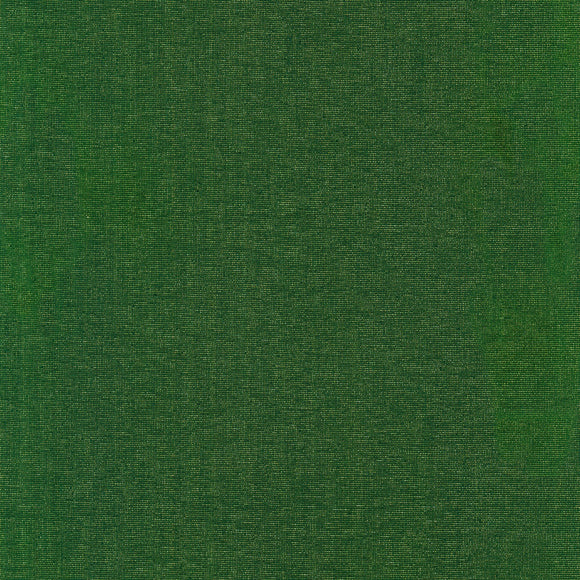 Robert Kaufman - Moondust - Green & Gold - Metallic Shimmer - Cotton / Lurex Fabric- 1/2 Yard