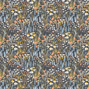 Dear Stella Designs Wildlings Cotton Fabric - Stargazer - 1/2 Yard