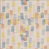 Cotton & Steel - Paper Cuts by Rashida Coleman-Hale - Cobalt - Unbleached Cotton Fabric - 1/2 Yard