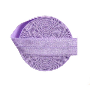 "20mm (3/4"") Fold Over Elastic FOE - Orchid - By The Yard"