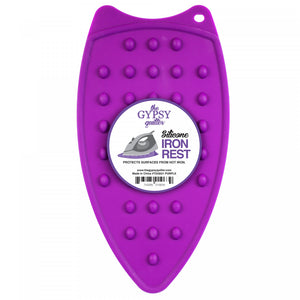 The Gypsy Quilter Silicone Iron Rest - Purple