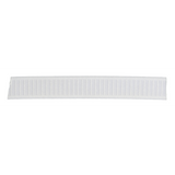 "1.25"" (32mm) Non-Roll Woven Elastic by the meter - White - Select length from drop down"