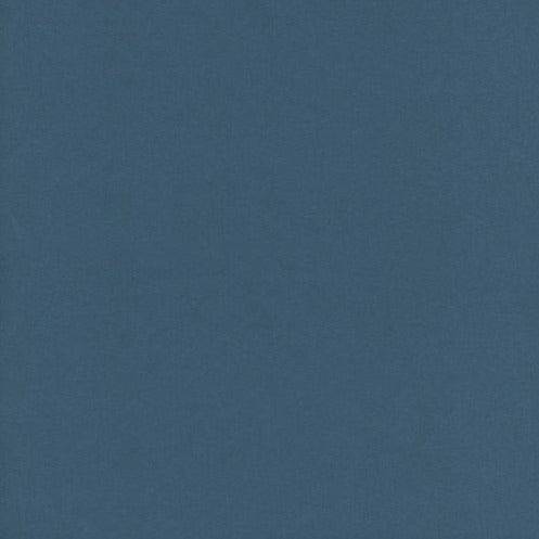 Cotton & Steel -  Cotton Lawn Solids - Solid - Indigo Blue - Lawn Fabric - 1/2 Yard
