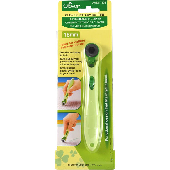 Clover 18mm (3⁄4″) Soft Grip Rotary Cutter