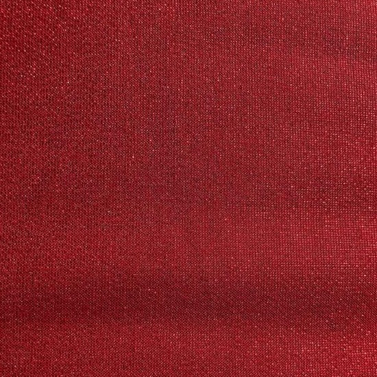 Robert Kaufman - Moondust - Scarlet Red - Metallic Shimmer - Cotton / Lurex Fabric- 1/2 Yard
